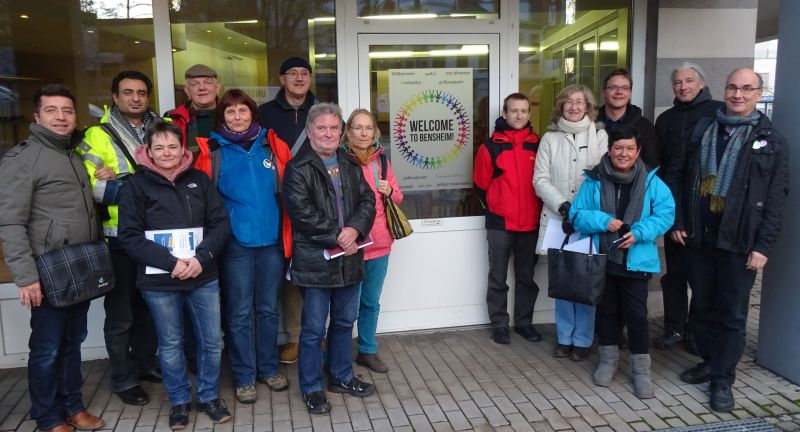 Gelungene Flüchtlingsarbeit in Friedberg